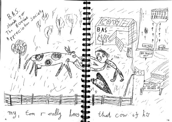 Tom's Cow page1